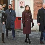 Crown Prince Haakon and Crown Princess Mette-Marit with the Duke and Duchess of Cambridge Photo (C) PA