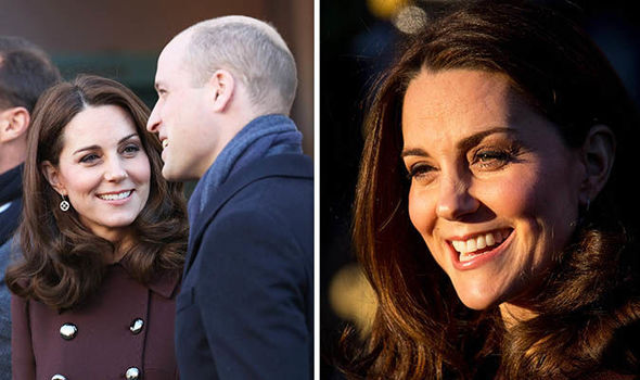 Duke and Duchess of Cambridge meet well wishers outside of Hartvig Nissen School Photo C GETTY