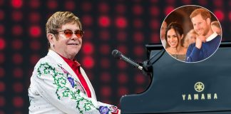 Elton John cancels two tour dates to attend Prince Harry and Meghan Markle
