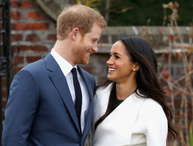 Prince Harry and Meghan Markle during an official photocall to announce the engagement Photo (C) GETTY
