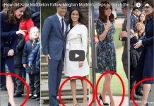 How did Kate Middleton follow Meghan Markle's steps to break the Queen's strict fashion rule