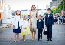 How many children do Princess Mary and Prince Frederik have Photo (C) GETTY