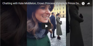 Kate Middleton Crown Princess Victoria Prince Daniel of Sweden Catherine Duchess of Cambridge Royals British Royal Family Royal News