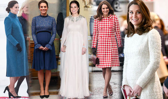 Kate Middleton, Duchess of Cambridge best dresses and maternity style Photo (C) GETTy