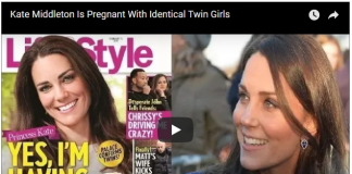 Kate Middleton Is Pregnant With Identical Twin Girls