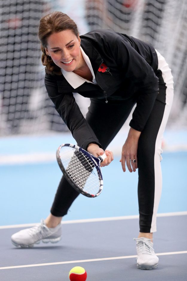 Kate Middleton favours a couple of sporting styles [Getty]