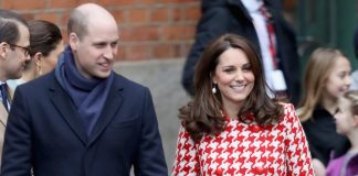 Kate Middleton wore a coat fit for a princess. Chris Jackson Getty Images