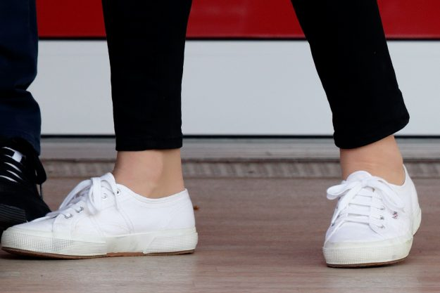 Kate Middleton's go-to choice of trainer is Superga [Getty]