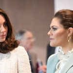 Kate and Princess Victoria discussed mental health services in Sweden Photo (C) GETTY
