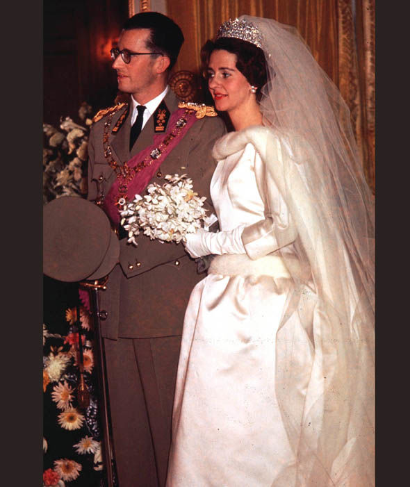 King Baudouin and Queen Fabiola of Belgium in 1960 Photo (C) GETTY IMAGES