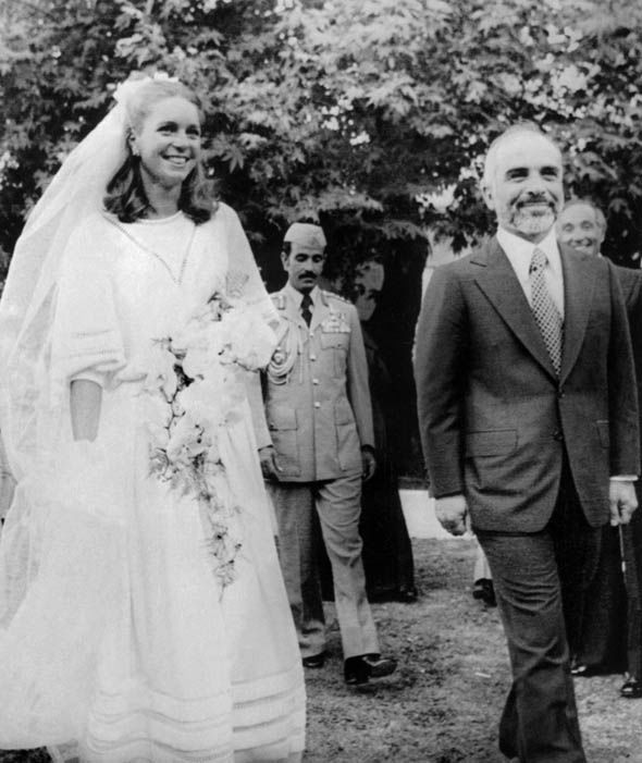 King Hussein of Jordan and Queen Noor in 1978 Photo (C) GETTY (2)
