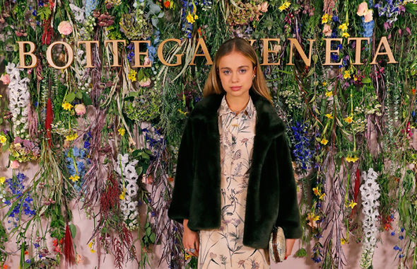 Lady Amelia Windsor The young royal is often spotted at fashion shows and parties Photo (C) GETTY