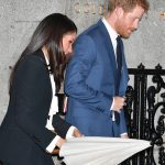 Meghan Markle and Prince Harry arriving at the Endeavor Awards Photo (C) PA
