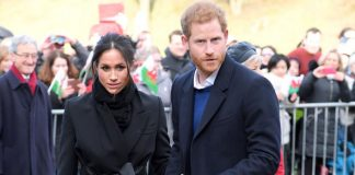 Meghan Markle wedding Prince Harry and his fiancee will wed in Windsor in May Photo (C) GETTY