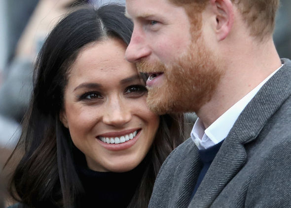 Meghan and Harry's engagement was met with delight Photo (C) GETTY
