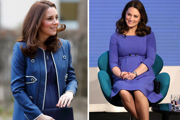 PURPLE REIGN Kate stole the show in a bright purple number PHOTO (C) GETTY