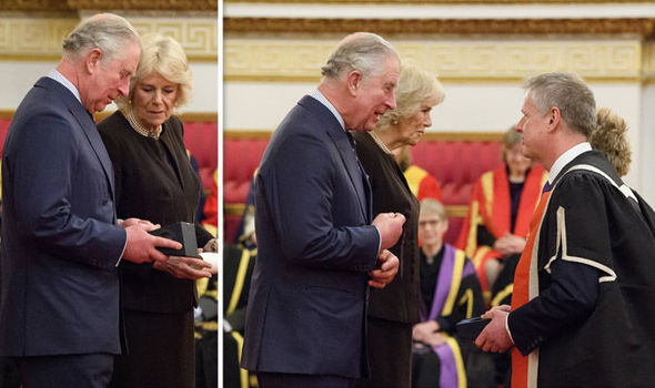 Prince Charles and Camilla present prizes to Cardiff University Photo (CPrince Charles and Camilla present prizes to Cardiff University Photo (C) GETTY) GETTY