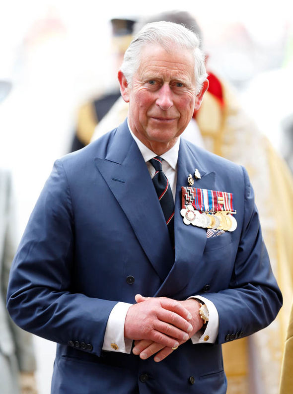 Prince Charles is first in line to the throne Photo (C) GETTY