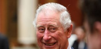 Prince Charles looked in good spirits Photo C GETTY