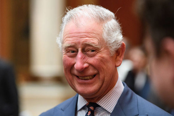 Prince Charles looked in good spirits Photo (C) GETTY