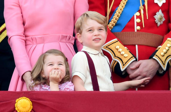 Prince George and Princess Charlotte are currently third and fourth in line to the throne Photo (C) ROYAL FAMILY SUCCESSION