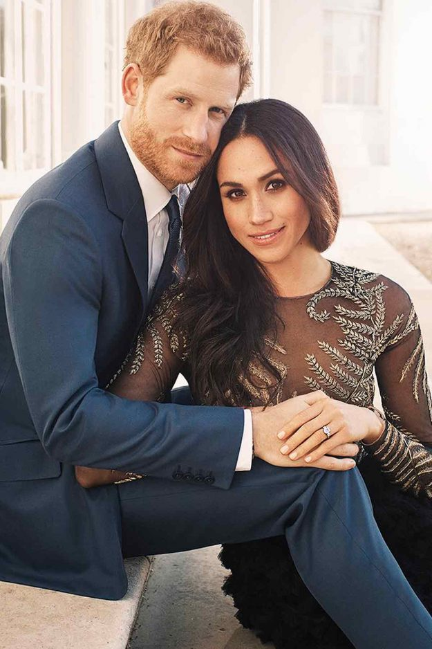 Prince Harry and Meghan Markle rare currently planning their 2018 wedding [Alexi Lubomirski, Kensington Palace]