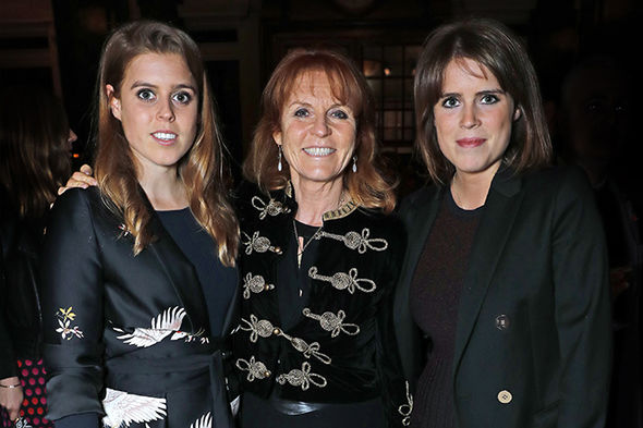 Prince Harry is close to Sarah's daughters Princesses Beatrice and Eugenie Photo (C) GETTY