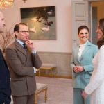 Prince William and Kate had tea with Princess Victoria and Prince Daniel Photo (C) GETTY