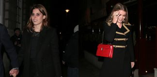Princess Beatrice and Lady Kitty Spencer hit the town in style Photo (C) GETTY