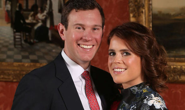 Princess Eugenie and fiance Jack Brooksbank Photo (C) GETTY