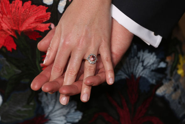 Princess Eugenies engagement ring Photo C GETTY