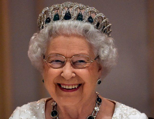 Queen wearing a tiara Photo (C) GETTY