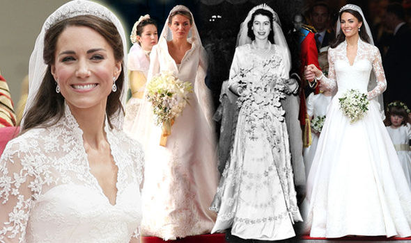 Queen Elizabeth Ii Wedding.Royal Wedding Dresses Through The Years In Pictures Queen Elizabeth