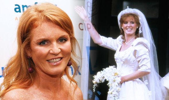 Sarah Ferguson How Duchess rebelled on her wedding day to Prince Andrew Photo (C) GETTY