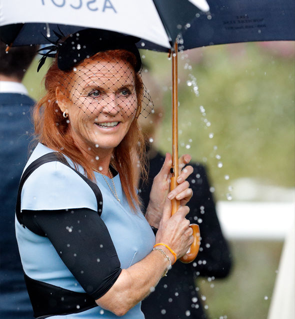 Sarah Ferguson She was not invited to Prince William and Kate Middleton's wedding in 2011 Photo (C) GETTY