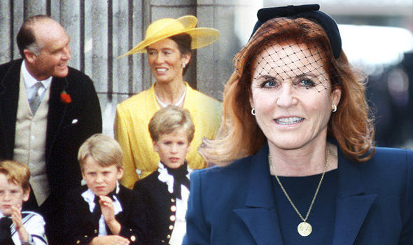 Sarah Ferguson Who are her parents Ex-wife of Prince Andrew's family tree Photo (C) GETTY