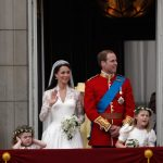 Similarly, Kate Middleton's gown, designed by Sarah Burton for Alexander McQueen Photo (C) GETTY