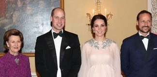 The Duke and Duchess recently went on a four day tour of Sweden and Norway Photo C GETTY