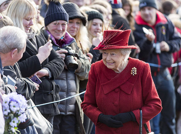 The Queen will head back to London this week Photo (C) GETTY