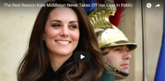 The Real Reason Kate Middleton Never Takes Off Her Coat In Public