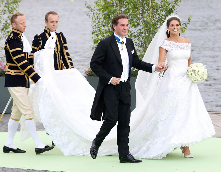 The Wedding of Princess Madeleine & Christopher O'Neill on June 8, 2013 Photo (C) GETTY IMAGES