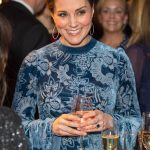 The beaming Royal has ended a busy day at a gallery event in Stockholm Photo C P A