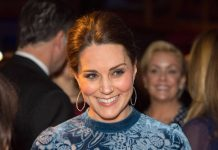 The beaming Royal has ended a busy day at a gallery event in Stockholm Photo (C) P A