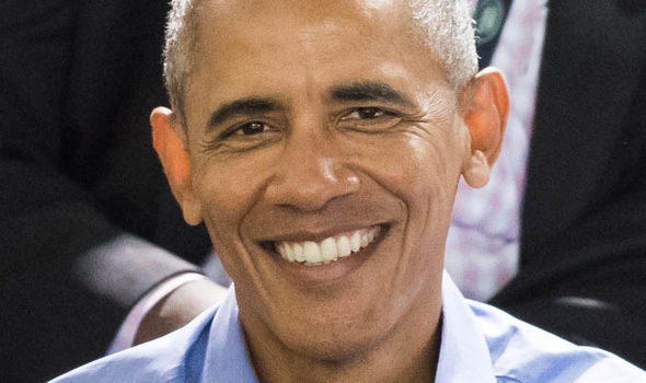 Three times as many people think Mr Obama should be invited to the wedding over Donald Trump Photo (C) WIREIMAGE