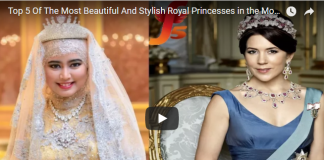 Top 5 Of The Most Beautiful And Stylish Royal Princesses in the Modern World Today