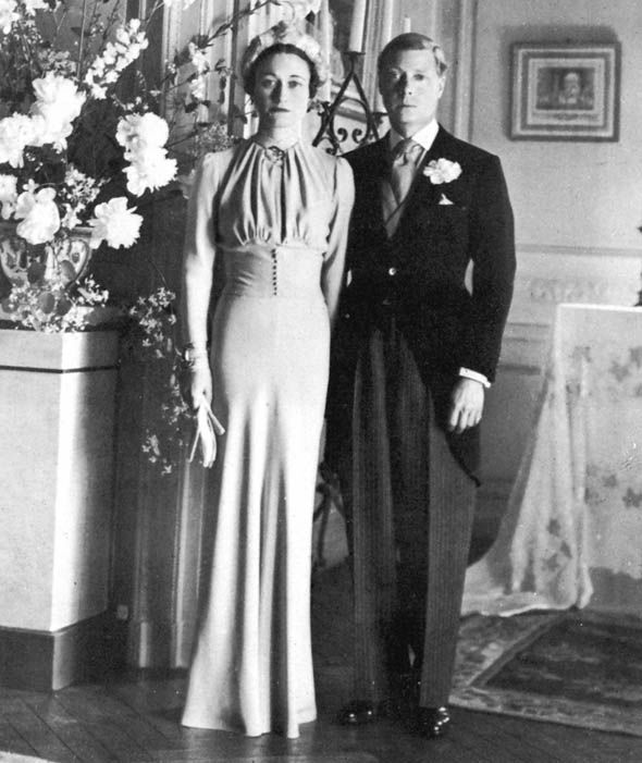 Wallis Simpson and the Duke of Windsor, 3 June 1937 Photo (C) GETTY IMAGES