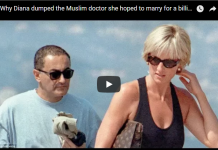 Why Diana dumped the Muslim doctor she hoped to marry for a billionaire's son