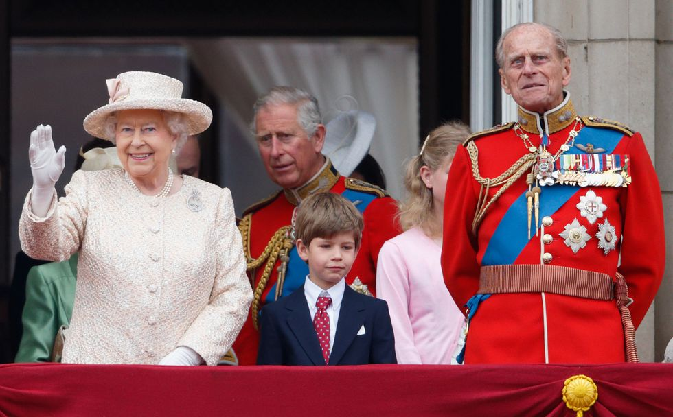 With two weddings and two new babies, the members of the royal family have quite a year ahead of them. PHoto (C) GETTY IMAGES