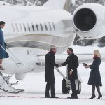 The coat skimmed her bump perfectly Photo: © PA
