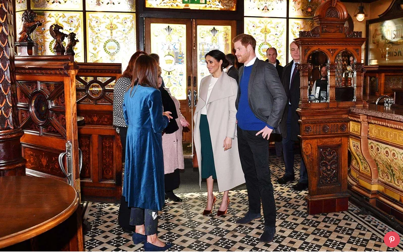 Here's What Prince Harry and Meghan Markle Did on Their Surprise Trip to Northern Ireland Photo (C) GETTY